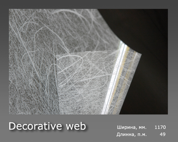 Decorative web